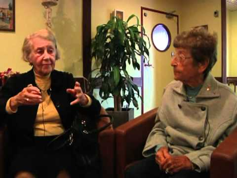 NORMANDY 67:: WWII Nurses (Levitsky Sisters) Full Interview