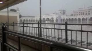 Rain in Gurdwara Janan Asthan Nankana Sahib Punjab Pakistan (Nankana Di Awaj)