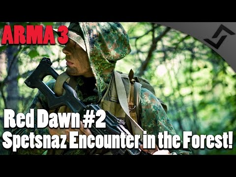 ARMA 3 - Red Dawn Episode 2 - Prisoner Liberation! & Spetsnaz Encounter in the Forest