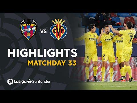 Levante Villarreal Goals And Highlights