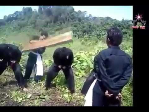hukuman Kuda_Kuda,16_an bagi siswa psht uda biasa