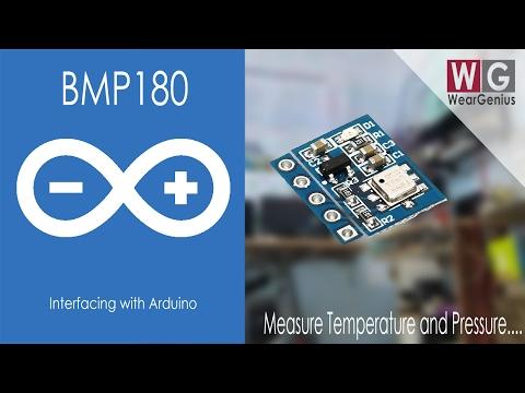 BMP180 I2C Temp./Pressure Sensor Interfacing In Details   Arduino