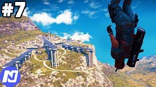 Just Cause 3 #7 - Tấn công căn cứ sân bay địch và cái kết quá nhọ | ND Gaming