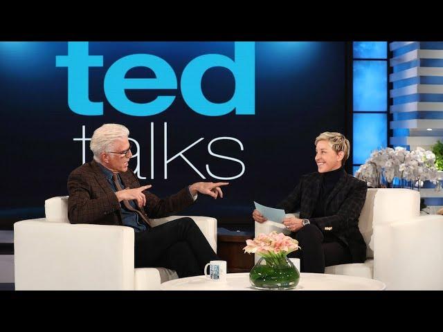 Ted Danson Tries to Trick Ellen in 'TED Talks'