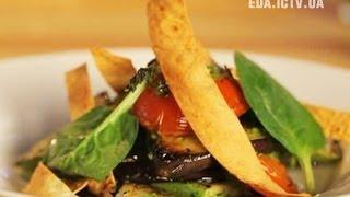 Как приготовить салат с овощами гриль? - Основной инстинкт. Выпуск 11