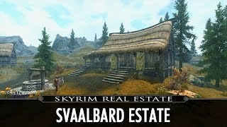 Skyrim Real Estate: Svaalbard Estate - My Own House Mod!