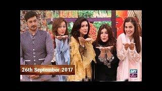 Salam Zindagi With Faysal Qureshi - Naheed Ansari & Chef Warda - 26th September 2017