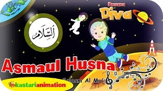 asmaul husna lagu anak indonesia hd kastari animation official