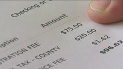 DMV overcharges drivers for car registration