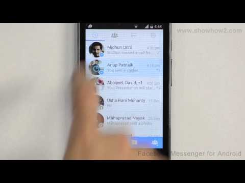 Facebook Messenger For Android - How To Search For An Image And Share It
