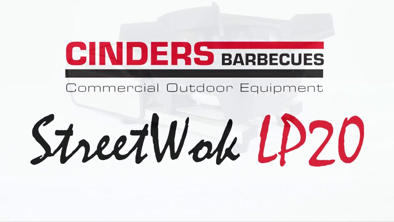 Cinders StreetWok® Wok Cooker Video - YouTube