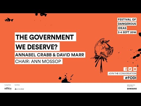 Annabel Crabb and David Marr - The Government We Deserve