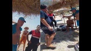 Sherr për çadrën, qytetari përplaset me policinë në plazh