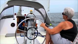 Sail change, Tartan 34c