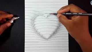 Dibujos En3d Faciles