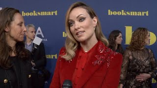 Olivia Wilde Is At The Premiere For Her New Movie 'Booksmart'