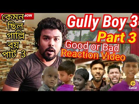 Gully Boy Part 3 (Official Music Video Reaction | Rana | Tabib | Gully Boy Bangla Rap Song Reaction