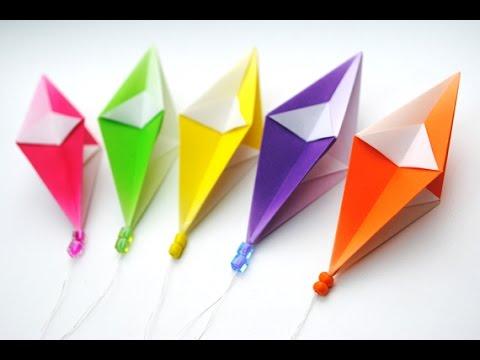 How To Make Origami Diamond Easy Tutorial Origami Handmade