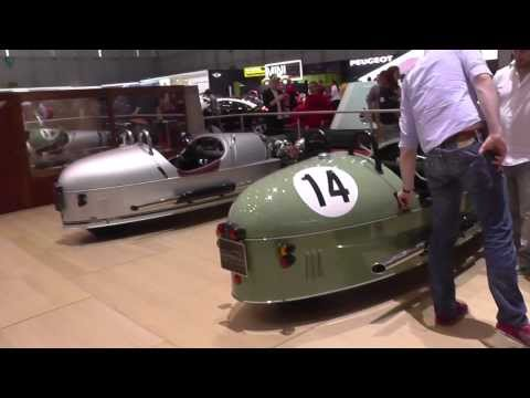 Morgan Sports Car Stand World Premiere @ Geneva Motor Show 2014