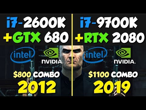 High-End Gaming PC from 2012 vs 2019 High-End Benchmark