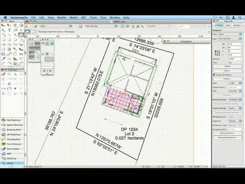 070 Drawing A Site Plan Youtube