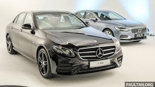 paultan.org readers review the Mercedes-Benz E350e and Volvo S90 T8