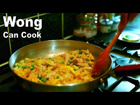 Chicken Fried Rice - Wong Can Cook