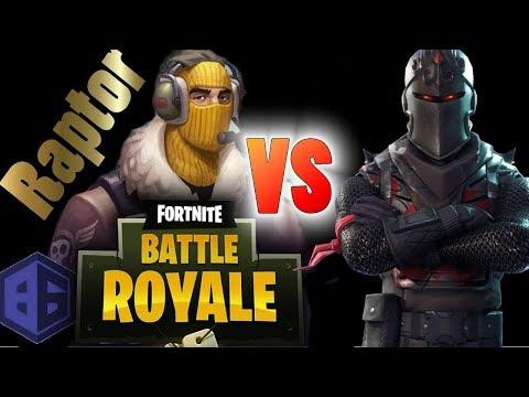 Legendary Raptor vs  Black Knights