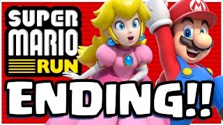 SAVING PRINCESS PEACH...!! | Super Mario Run App | WORLD 6 COMPLETE ENDING FINAL