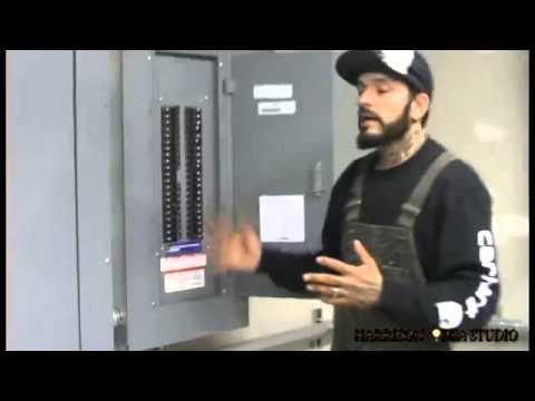 Garvey Doorbell and Main circuit panels