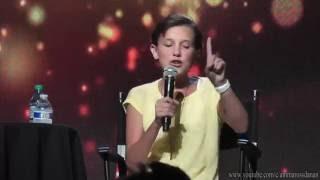 Millie Bobby Brown raps Nicki Minaj's verse from