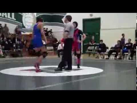 mixed wrestling pin