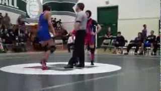 beautiful <b>girl pins guy</b> in a <b>mixed wrestling</b> match
