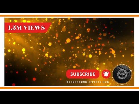 Gold particles background effect || Dark background || Free \u0026 High resolution