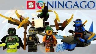 Обзор конструктора Лего Ниндзяго из Китая SY Brick Драконы