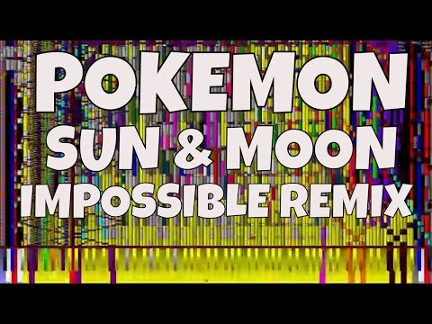 IMPOSSIBLE REMIX - POKEMON Sun & Moon - Series Theme Song - Piano Cover