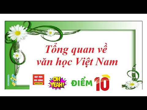 Tổng quan văn học Việt Nam, văn 10