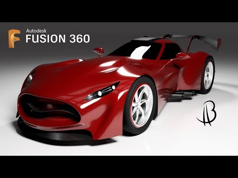 Car Design Speedrun 14 - Using Autodesk Fusion 360