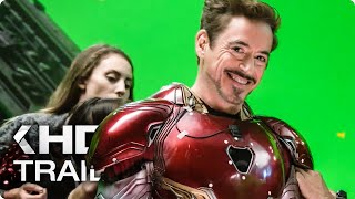 AVENGERS 3: Infinity War Behind-The-Scenes Featurette & Trailer (2018)