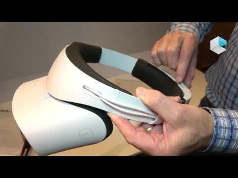 DELL Windows Mixed Reality headset HMD