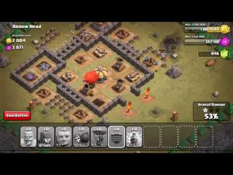 re: Clash of Clans level 28 - Arrow Head