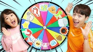 신기한 마법 룰렛이 나타났어요! 앗싸 초코 아이스크림 당첨됐다!! Kids Playing with Magic Wheel 마슈토이 Mashu ToysReview