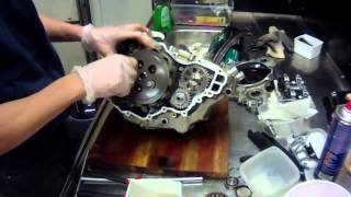 KTM 250 sxf engine rebuild