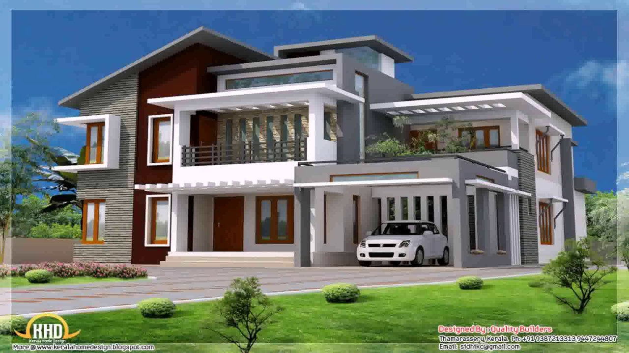 Contemporary Style Home Part - 20: Contemporary Style House In Kerala