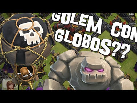 ¿Golem con globos? | Ataques #23 | Descubriendo Clash of Clans
