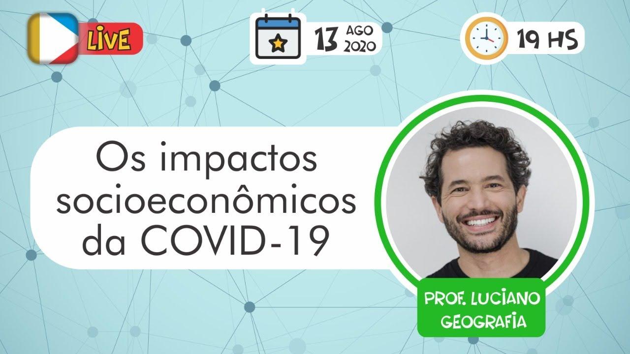 Os impactos  socioeconômicos  da COVID-19