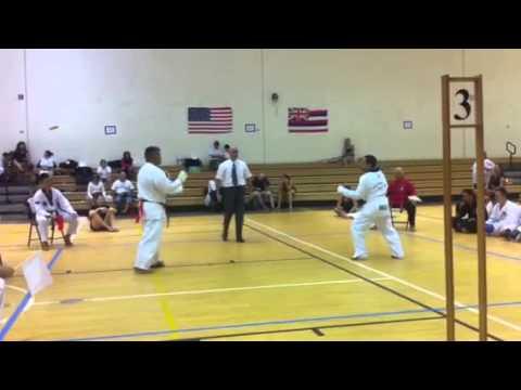 Honolulu Hawaii Open Martial Arts Tournament 10-27-12