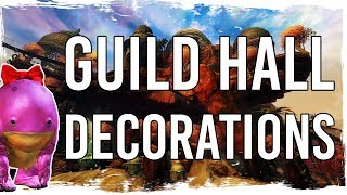 Guild Wars 2 - The Beauty of Guild Hall Decorations