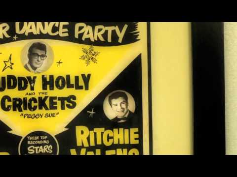 Buddy Holly Rare Concert Poster