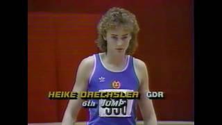 Heike Drechsler - Women's Long Jump  WR (7.32) - 1987 USA Indoor Championships
